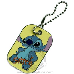 Disney Spotlight Pin - Dog Tag - Stitch