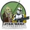 Disney Star Wars Weekends 2008 Pin - Kit Fitso and Clone Commander