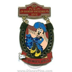Disney White Glove Pin - Remember When - Diamond Horseshoe Revue