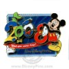 Disney White Glove Pin - Wish You Were Here 2008 - Mickey Mouse
