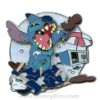 Disney White Glove Pin - Stitch with Ice Cream Cart