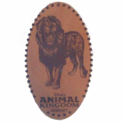Disney Pressed Penny - Animal Kingdom - Lion