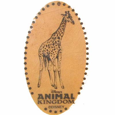 Disney Pressed Penny - Animal Kingdom - Giraffe