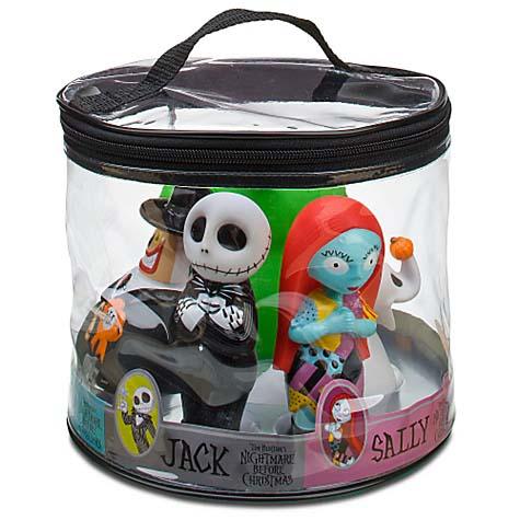disney bath toy set nightmare before christmas - Nightmare Before Christmas Bathroom