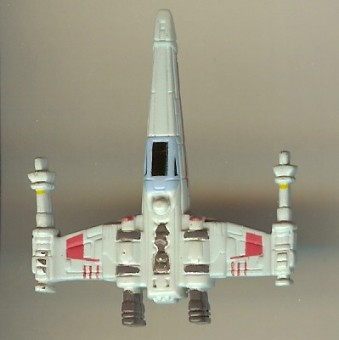 Disney Series 4 Star Wars Mini Figure - X-WING FIGHTER