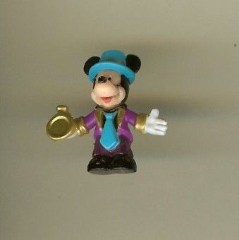 Disney Series 7 Holiday Mini Figure - NEW YEAR'S EVE MICKEY