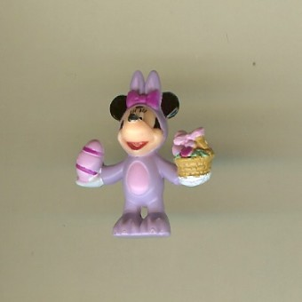 Disney Series 7 Holiday Mini Figure - EASTER BUNNY MINNIE