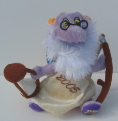 Disney Plush - Figment - Father Time New Years