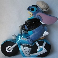 Disney Plush - Stitch – Biker