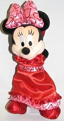 Disney Plush - Minnie - Valentine's Day 2007