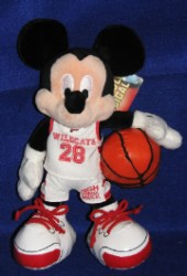 Disney Plush - Mickey - High School Musical