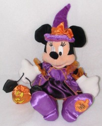Disney Plush - Minnie Mouse - 2008 Halloween