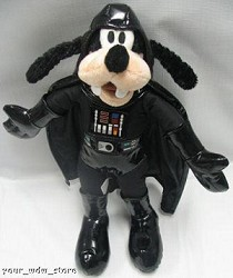 Disney Plush - Goofy - Darth Vader - LE 4000