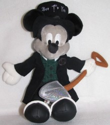 Disney Plush - Mickey - Not So Scary Halloween Party 2006 Grave Digger