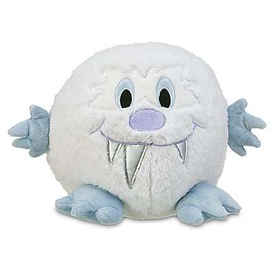 Disney Plush Everest Baby Yeti Large Big Sasquatch Puff Ball