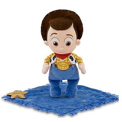 Disney Plush Disney S Babies Woody Baby In Blanket