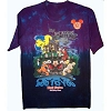 Disney Adult Shirt - PURPLE Mickey's Not So Scary Halloween Party