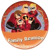 Disney Souvenir Button - Incredibles - Family Reunion