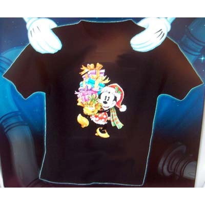 Your WDW Store - Disney ADULT Shirt - Christmas Minnie Mouse and Gifts