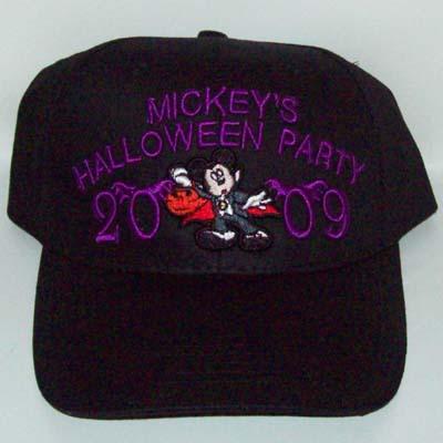 Disney Baseball Cap - Mickey s Not So Scary Halloween Party 2009 a698ecb0b028