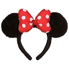 Disney Headband Hat - Plush Minnie Mouse Ears