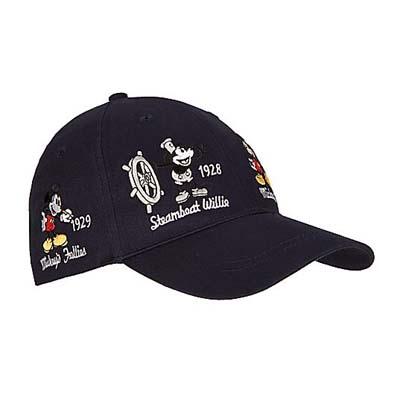 3df540884b74cf Disney Hat - Baseball Cap - Mickey Thru the Years - Navy
