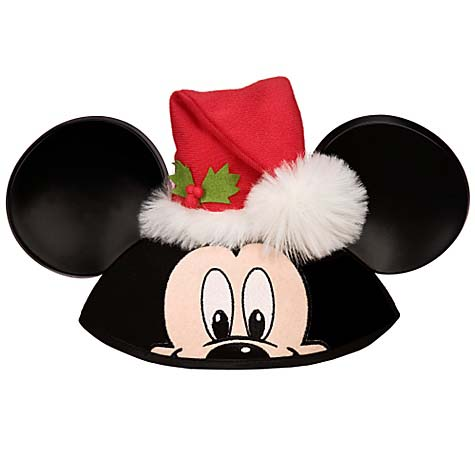 1a4088b1f83ce Add to My Lists. Disney Hat - Ears Hat - Santa Mickey Mouse