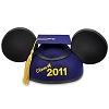 Disney Hat - Ears Hat - Graduation Class of 2011