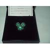 Disney Swarovski Pin - Mickey Icon - Green