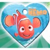 Disney Engraved ID Tag - Finding Nemo - Nemo Heart