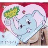 Disney Engraved ID Tag - Rainforest Cafe - Elephant