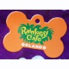 Disney Engraved ID Tag - Rainforest Cafe - Bone
