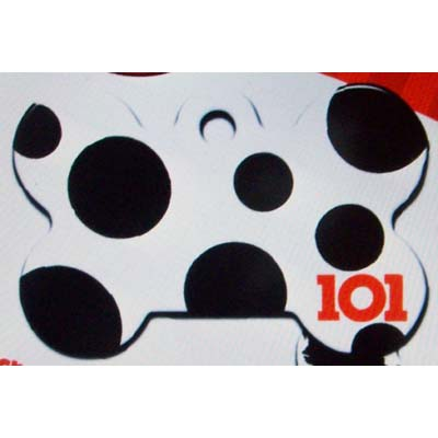Your WDW Store Disney Engraved ID Tag 101 Dalmatians