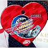 Disney Engraved ID Tag - Rock n Roller Coaster Heart
