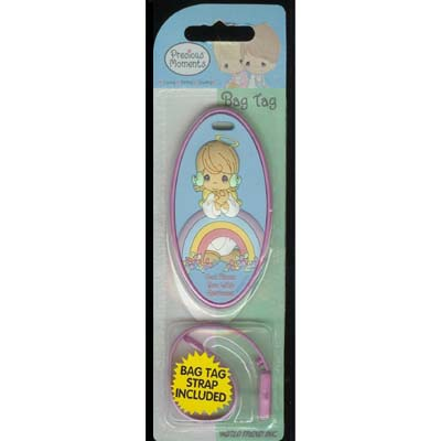 Precious Moments Bag Tag - God Bless You With Rainbows