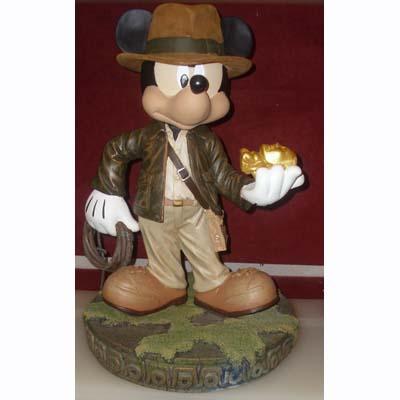 Your WDW Store - Disney Big Figure Statue - Indiana Jones