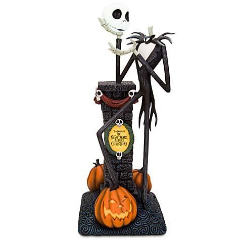 Disney Jack Skellington Gloves Pumpkin King Nightmare Before Christmas Alien Bot