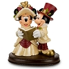 Disney Big Figure - Mickey Minnie Christmas Carolers Victorian