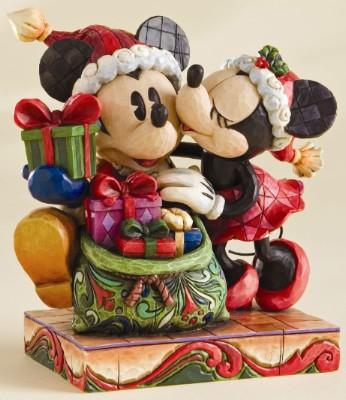 A Christmas Kiss Cast.Disney Traditions Jim Shore Figure A Christmas Kiss