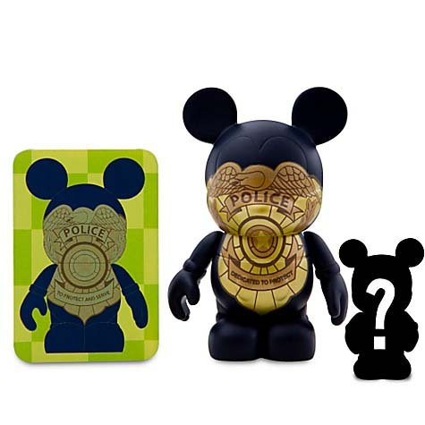 Disney vinylmation Figure - Occupations Series - Police & Junior