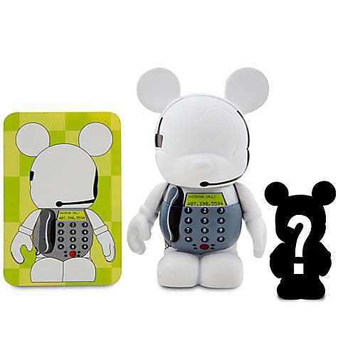Disney vinylmation Figure - Occupations Series - Assistant & Junior