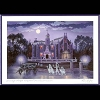 Disney Artist Print - Larry Dotson - Disney's Magic Kingdom - Haunted Mansion
