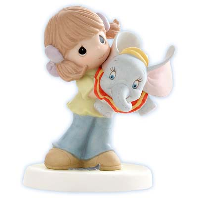 Disney Precious Moments Figurine - Now You Can Fly!