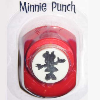 Your WDW Store - Disney Scrapbooking Paper Punch - Minnie ...