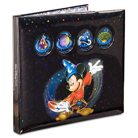 Disney Scrapbook Album 12 x 12 - Sorcerer Mickey – Black
