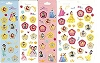 Disney Stickers 5 Strips - Disney Princesses