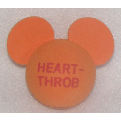 Disney Antenna Topper - Mickey Mouse Ears Valentines - Heart Throb