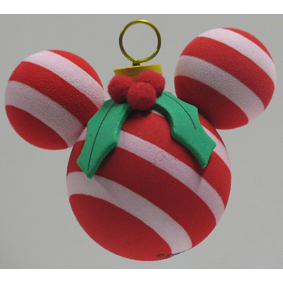 Disney Antenna Topper - Christmas Holiday Candy Cane Mistletoe