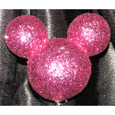 Disney Antenna Topper Mickey Mouse Ears Icon Pink Glitter