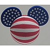 Disney Antenna Topper - Mickey Mouse Ears 4th of July Independence Day